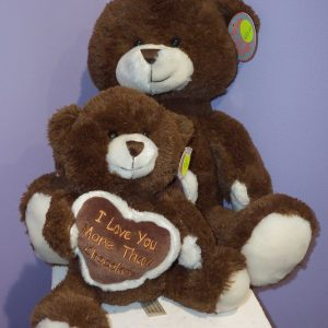Brown Chocolate Bears - Teddies - Flower R Us