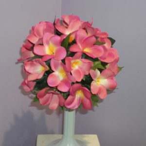 Wedding Frangi Pani Bouquet Silk - Weddings - Flowers R Us