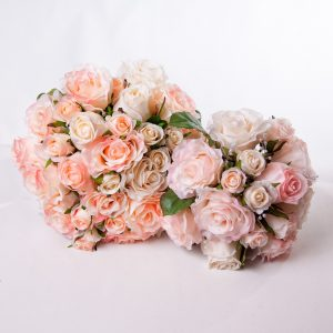 White Pink Rose Bouquet - Wedding - Flowers R Us