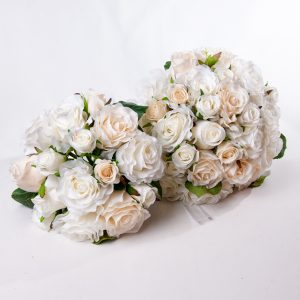 Wedding White Rose Bouquet Silk - Weddings - Flowers R Us
