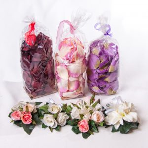 Rose Petals Silk - Various Colors - Weddings - Flowers R Us