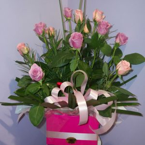 Fresh Bright Box Arrangement - Fresh Flowers - Flowers R Us