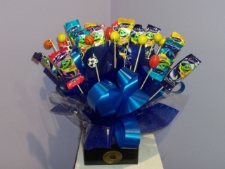 Choc Freddos Box Blue - Chocolate - Flowers R Us