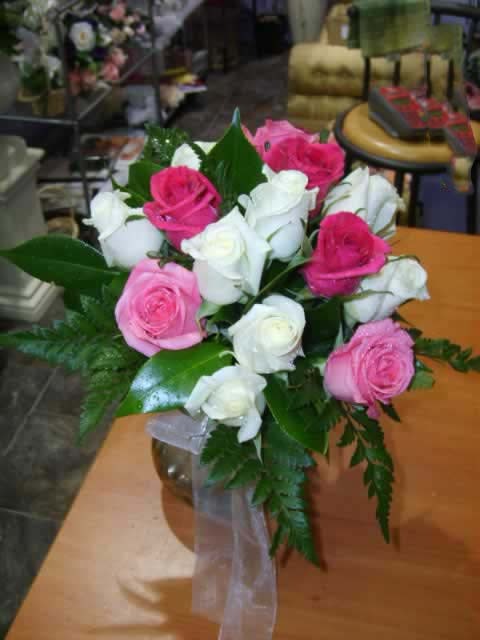 Wedding Pink Rose Bouquet Fresh - Weddings - Flowers R Us