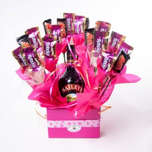 Mixed Cadbury Choc With Baileys Bottle - Chocolate - Flowers R Us