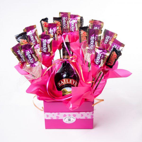 Mixed Cadbury Choc With Baileys Bottle - Chocolate - Flowers R Us