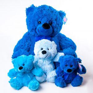 Teddies Various Colors & Sizes - Teddies - Flowers R Us