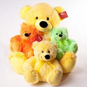 Teddies Various Colors & Sizes - Teddies - Flowers R Us - Yellow